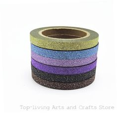 (6pcs/Set) Glitter Washi Tape Set Japanese Stationery Scrapbooking Decorative Tapes Adhesive Tape Kawai Fita Adesiva Decorativa-in Office Adhesive Tape from Office & School Supplies on Aliexpress.com | Alibaba Group