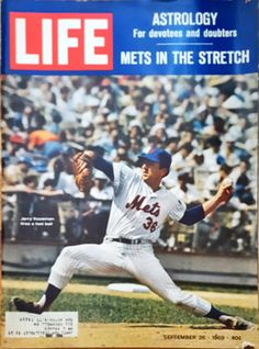 LIFE Magazine from September 26, 1969 featuring Jerry Koosman of the New York Mets by CnWsTexasTreasures on Etsy
