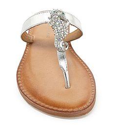 I must have these!!!!! Antonio Melani Seymour Flat Sandals