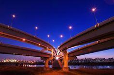 Kohoku JCT 江北ジャンクション Yokohama, City Life, City Lights, Japan Travel, Seoul, Trip Planning, Beautiful World, Nihon, Tokyo Japan
