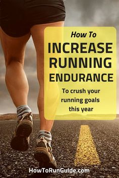 How to Increase Running Endurance. Get faster, stronger and run longer with these running tips. Learn how to increase your running endurance now! Running For Beginners, How To Start Running, How To Run Faster, How To Run Longer, Running Training, Running Workouts, Running Tips, Running Food, Running Outfits