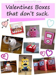 DIY Valentines Boxes that don't suck.