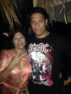 Mi hijo Luis y yo!!!