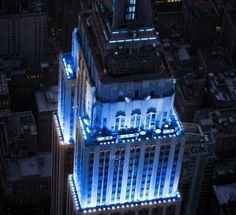 There's a petition to light up the Empire State Building TARDIS blue on November to celebrate the anniversary of Doctor Who<<<< this makes me think of Percy Jackson- two of my fan girl things will unite! World Autism Awareness Day, Lupus Awareness, Tardis Blue, I Love Nyc, The Weather Channel, Blue Box, Superwholock, 50th Anniversary, Empire State Building
