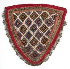 Brystklut @ DigitaltMuseum.no Folk Costume, Costumes, Folklore, Beadwork, Belts, Bohemian Rug, Stitching, Embroidery, How To Make