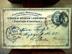 Old old postal