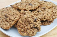 Moist and delicious! Peanut butter oatmeal raisin cookies