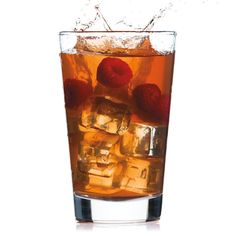 Raspberry liqueur gives a unique twist to a classic whiskey sour.