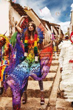 Daria Werbowy - Vogue UK 2013 Patrick Demarchelier