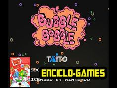 NES Gameplay #2 - Bubble bobble (Nintendo Classic Mini)