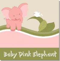 Elephant theme for a baby girl shower. Super cute theme that you can make your own by customizing it :)