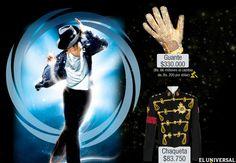 """INTERACTIVO // Michael Jackson es el artista fallecido que más dinero genera según la revista Forbes y su famosa finca """"Neverland"""" será vendida por 100 millones de dólares, cifra que confirma cómo el cantante continúa generando jugosos dividendos a seis años de su muerte. Acá una pequeña muestra de las altas sumas que han pagado coleccionistas por pertenencias del llamado 'rey del pop', quien perdió la vida el 25 de junio de 2009. (Por: Ailiceth Abreu y Efraín Castillo)"""