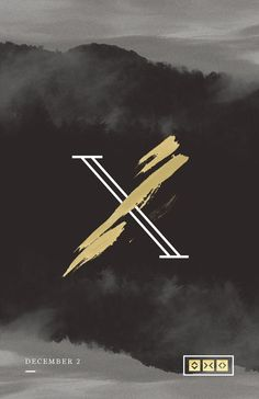 X | Sermon Series on Behance | X type. Brush stroke. Contemporary typography