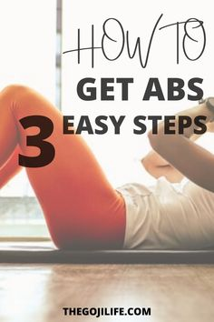 Working out but not seeing results? Want to know the secret of how to get abs? I share 3 easy steps for how to get abs and the toned tummy you've always wanted. Stop doing crunches now! #howtogetabs #fitnessmotivation #fitness #beginnerfitness Finding Motivation, Fit Motivation, How To Get Abs, How To Stay Healthy, Lose Weight Naturally, How To Lose Weight Fast, Toned Tummy, Healthy Lifestyle Tips, Crunches