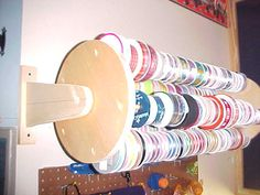 Craft Rooms - Organize suas fitas com criatividade   Tays Rocha