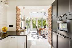 Kuchyně propojená s obývákem