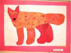 Eric Carle - Animals Animals Paper Collage - Art and Language Arts - KinderArt