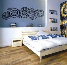 Dr. Who Inspired Gallifreyan Vinyl Wall Decal