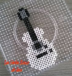 Guitar hama beads by barteletjess on deviantART