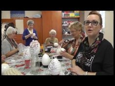 E Day, Egg Art, Easter Crafts, Science And Technology, Mixed Media Art, Easter Eggs, Decoupage, Entertaining, Youtube