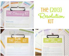The 2013 Resolution Kit