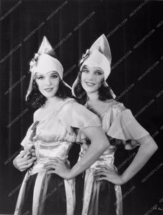 photo Sally Blane Loretta Young classic film Show of Shows 83-11