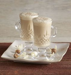 What's better than an eggnog recipe? An eggnog latte recipe. Rich, creamy and so yummy, it's perfect for a chilly day at home or for entertaining.