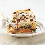 Butternut-Kale Lasagna Recipe | MyRecipes.com  Looks totally gross to me but the recipe sounds so good!