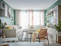✔ 40 De luxe Ideas IKEA pour deco cuisine home staging Ikea Design, Canapé Design, Deco Design, Interior Design, Catalogue Ikea, Best Sleeper Sofa, Nesting End Tables, Ikea Home, Decorating Living Rooms