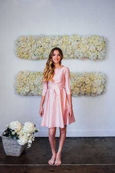 Nutcracker Dress Light Pink from the Bridesmaid Collection by Shabby Apple