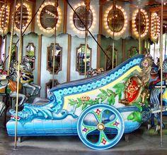 The Grand Ole Carousel Roman Chariot