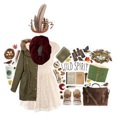 """""""bird-watching in an old oak tree"""" by hannahhnd ❤ liked on Polyvore featuring John Varvatos, Paul & Joe, ...Lost, H&M, American Eagle Outfitters, Jayson Home, Linea and Spell"""