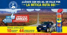 Participo en Rutas Míticas de WD-40 para conseguir un viaje por la Ruta 66, y necesito que 5 amigos tb se apunten. Dejo link!