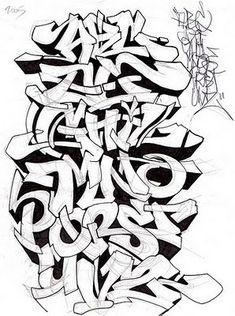 Download 44 Koleksi Gambar Grafiti Alfabet Terbaik