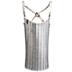 Chain Mail Butchers Apron II, - not sure why you would need a chain mail butcher's apron....