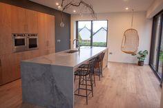 Polished Concrete, Islands, Kitchen Island, Home Decor, Island Kitchen, Homemade Home Decor, Island, Decoration Home, Interior Decorating