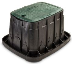 Rain Bird VBREC12 Sprinkler Valve Box with Green Lid Rectangle 12 -- Be sure to check out this awesome product.