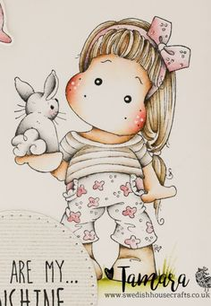 Tilda with Little Bunny | By Tamara - Swedish House Crafts