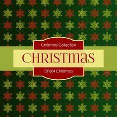 Christmas Digital Paper DP604 - Digital Paper Shop - 3
