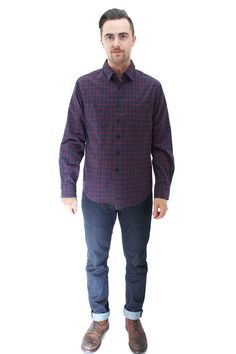 Clyde Flannel Shirt