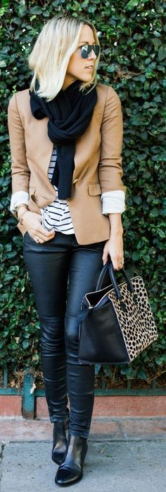 36 The Best Blazer Outfits Ideas For Women Winter Outfits For Teen Girls, Winter Fashion Outfits, Fall Winter Outfits, Work Fashion, Autumn Fashion, Style Fashion, Womens Fashion, Classy Outfits For Women, Jeans Fashion