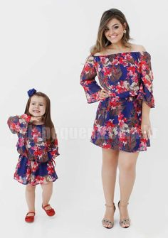 Vestidos mãe e filha - http://belapequena.com.br/produtos/4/roupas-tal-mae-tal-filha/20/conjuntos