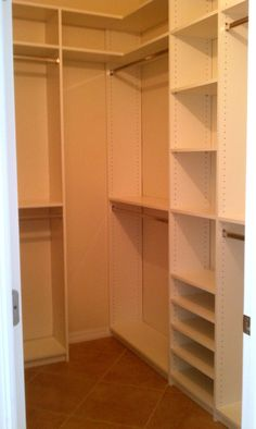 Closet Building Closet Storage Closets Wooden Closet Organizers Wonderful How To Build A Closet Closet Orgs Wonderful How To Build A Closet Out Of Wood Ideas Building Closet Shelves Small Walk In Closet Simp building closet storage Organizing Walk In Closet, Walk In Closet Small, Walk In Closet Design, Small Closets, Closet Designs, Narrow Closet, Small Rooms, Closet Walk-in, Closet Shelves