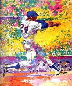 leroy neiman nieman willie willey mays mazes baseball