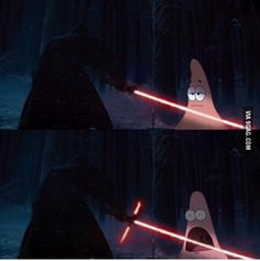 My reaction to a new lightsaber