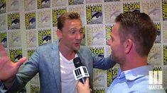 Tom Hiddleston - SDCC 2015 Interview - Maker TV-- I am geeking on music exactly like him! Thats what I tell my friends lol!