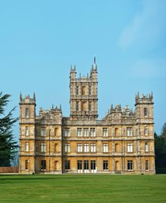 Highclere Castle, setting of Downton Abbey