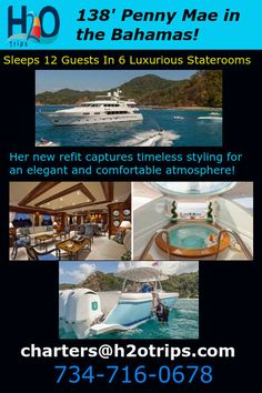 New charter yacht in the Bahamas! They have WAIVED the relocation fees during May :)
