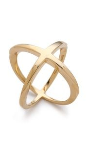 Sarah Chloe Geo Multi Ring   SHOPBOP