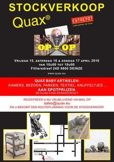 Quax Stockverkoop -- Deinze -- 15/04-17/04